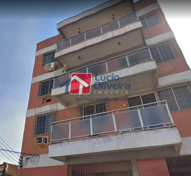 18-Vista externa prédio - Apartamento à venda Travessa da Benevolência,Vila da Penha, Rio de Janeiro - R$ 380.000 - VPAP21470 - 20