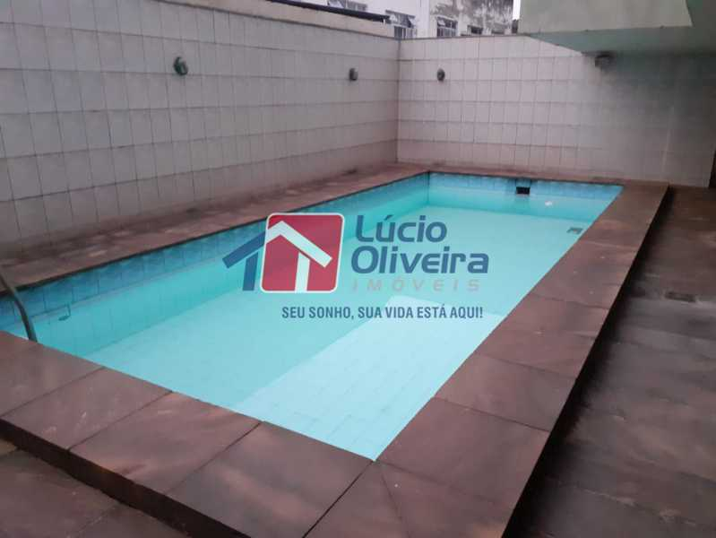 20-  Piscina. - Apartamento à venda Travessa da Benevolência,Vila da Penha, Rio de Janeiro - R$ 380.000 - VPAP21470 - 19