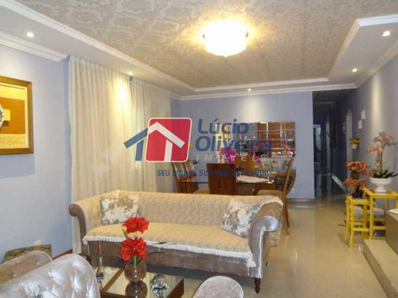 3- Sala 3 ambiente - Casa à venda Rua Sobragi,Tauá, Rio de Janeiro - R$ 910.000 - VPCA30208 - 4