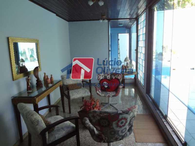 5-Varanda - Casa à venda Rua Sobragi,Tauá, Rio de Janeiro - R$ 910.000 - VPCA30208 - 6