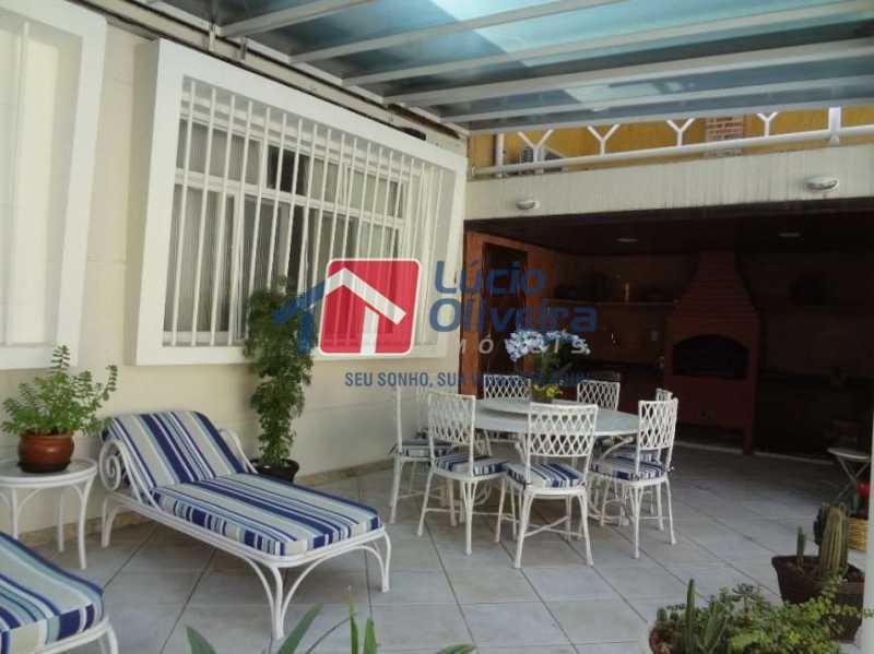 17-Area gourmet lazer - Casa à venda Rua Sobragi,Tauá, Rio de Janeiro - R$ 910.000 - VPCA30208 - 18