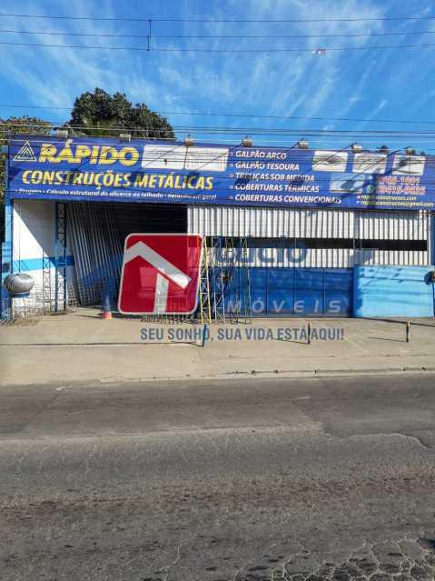 1 -  fachada - Galpão 250m² à venda Estrada Luís Lemos,Vila Anita, Nova Iguaçu - R$ 550.000 - VPGA00013 - 1
