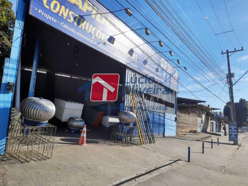 2- fachada - Galpão 250m² à venda Estrada Luís Lemos,Vila Anita, Nova Iguaçu - R$ 550.000 - VPGA00013 - 3