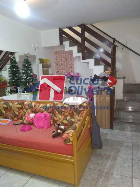 03- Sala - Casa à venda Rua Ferreira de Andrade,Cachambi, Rio de Janeiro - R$ 850.000 - VPCA50030 - 5