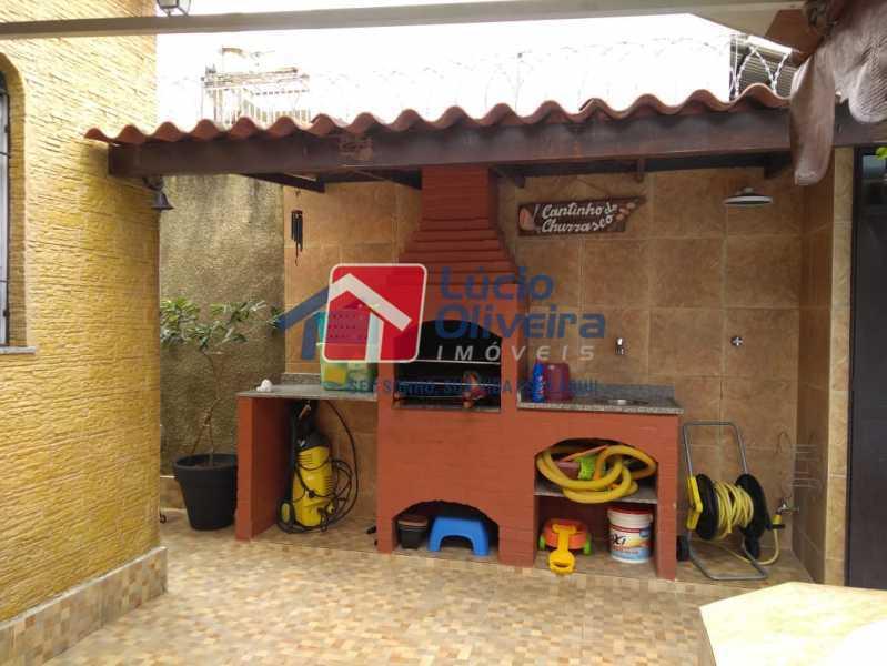 14- Churrasqueira - Casa à venda Rua Ferreira de Andrade,Cachambi, Rio de Janeiro - R$ 850.000 - VPCA50030 - 15