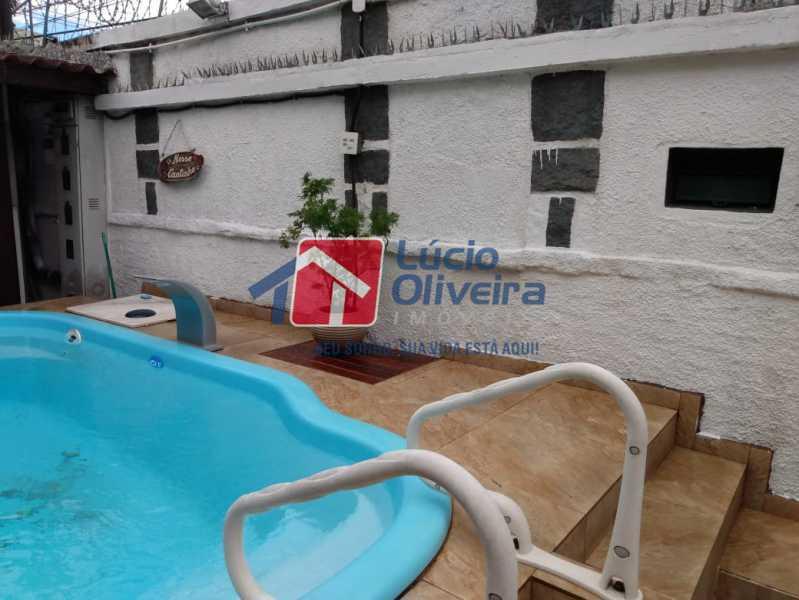 15- Piscina - Casa à venda Rua Ferreira de Andrade,Cachambi, Rio de Janeiro - R$ 850.000 - VPCA50030 - 16