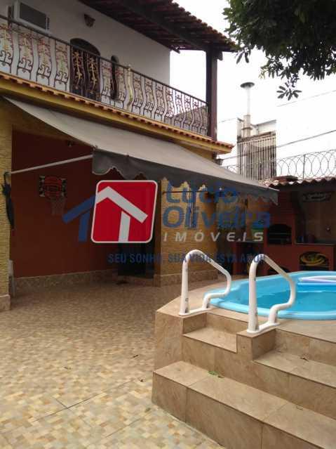 17- Quintal Frente - Casa à venda Rua Ferreira de Andrade,Cachambi, Rio de Janeiro - R$ 850.000 - VPCA50030 - 18
