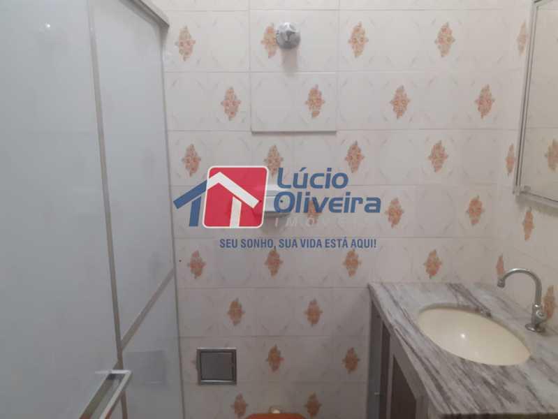 banheiro 3 - Casa 2 quartos à venda Vila Kosmos, Rio de Janeiro - R$ 235.000 - VPCA20278 - 7