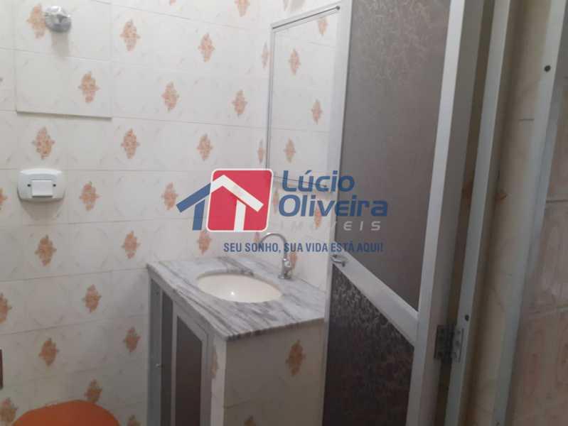 banheiro 2 - Casa 2 quartos à venda Vila Kosmos, Rio de Janeiro - R$ 235.000 - VPCA20278 - 8