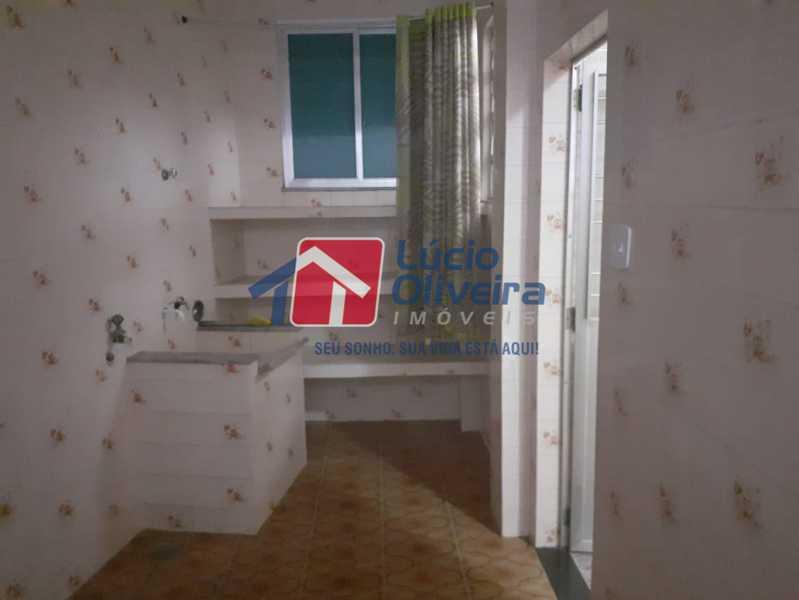 area de  serviço - Casa 2 quartos à venda Vila Kosmos, Rio de Janeiro - R$ 235.000 - VPCA20278 - 10