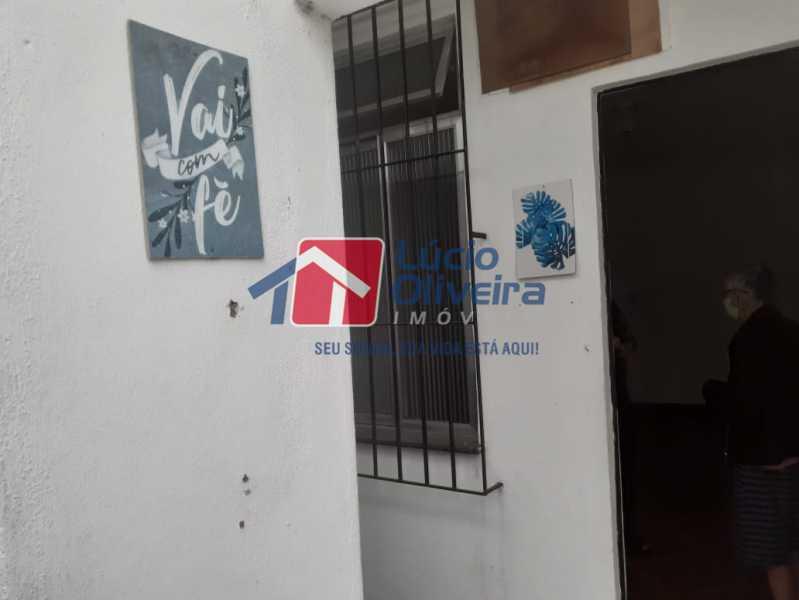 parte externa - Casa 2 quartos à venda Vila Kosmos, Rio de Janeiro - R$ 235.000 - VPCA20278 - 14