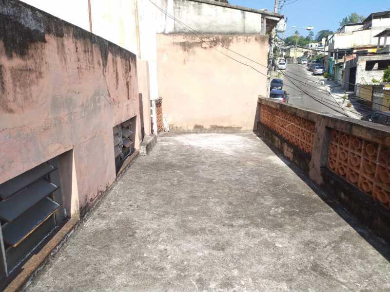 Terraço Fte. - Casa 5 quartos à venda Penha Circular, Rio de Janeiro - R$ 320.000 - VPCA50031 - 19