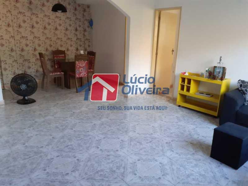 sala - Casa à venda Rua Godofredo Silva,Vila Kosmos, Rio de Janeiro - R$ 245.000 - VPCA20281 - 3