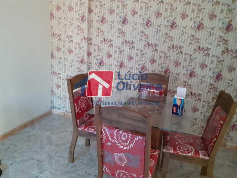 sala decorada - Casa à venda Rua Godofredo Silva,Vila Kosmos, Rio de Janeiro - R$ 245.000 - VPCA20281 - 4