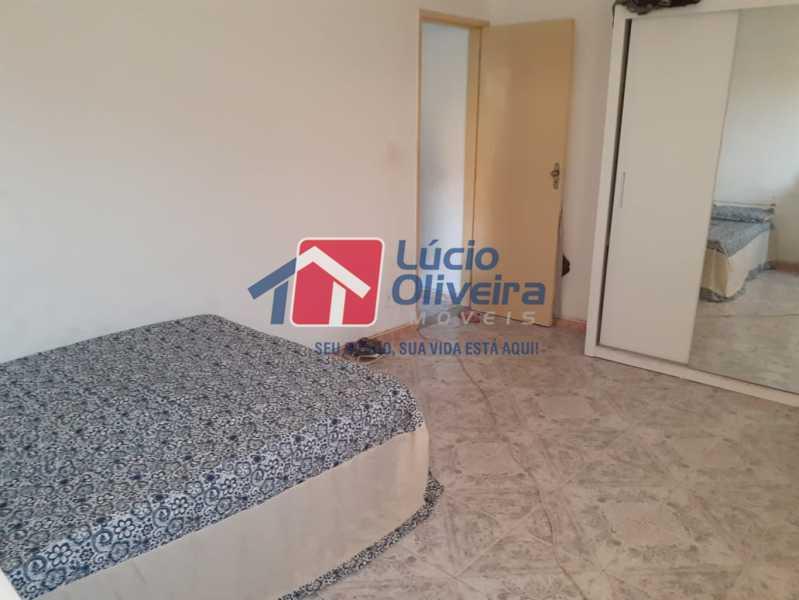 quarto principal - Casa à venda Rua Godofredo Silva,Vila Kosmos, Rio de Janeiro - R$ 245.000 - VPCA20281 - 6