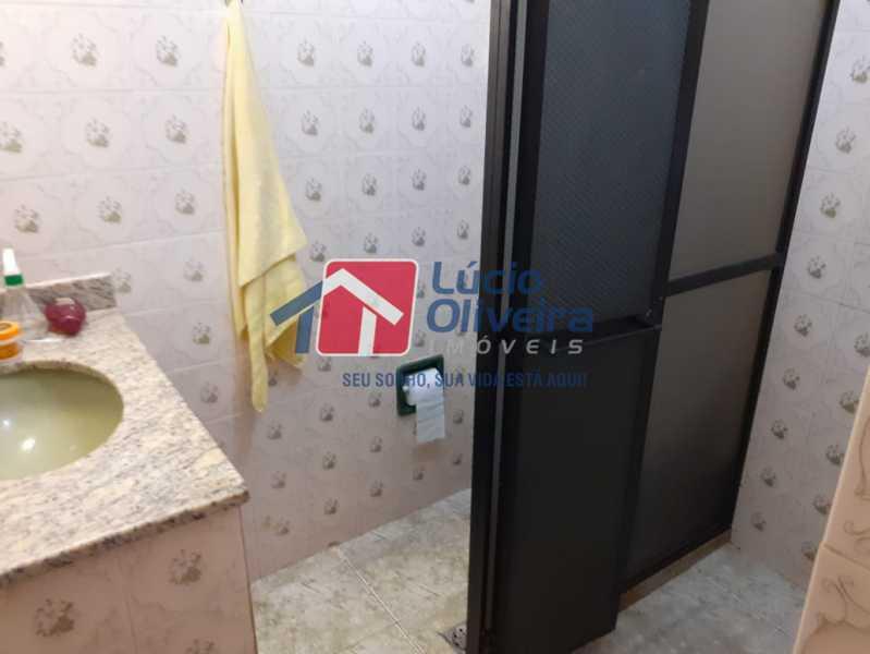 banheiro 2 - Casa à venda Rua Godofredo Silva,Vila Kosmos, Rio de Janeiro - R$ 245.000 - VPCA20281 - 11