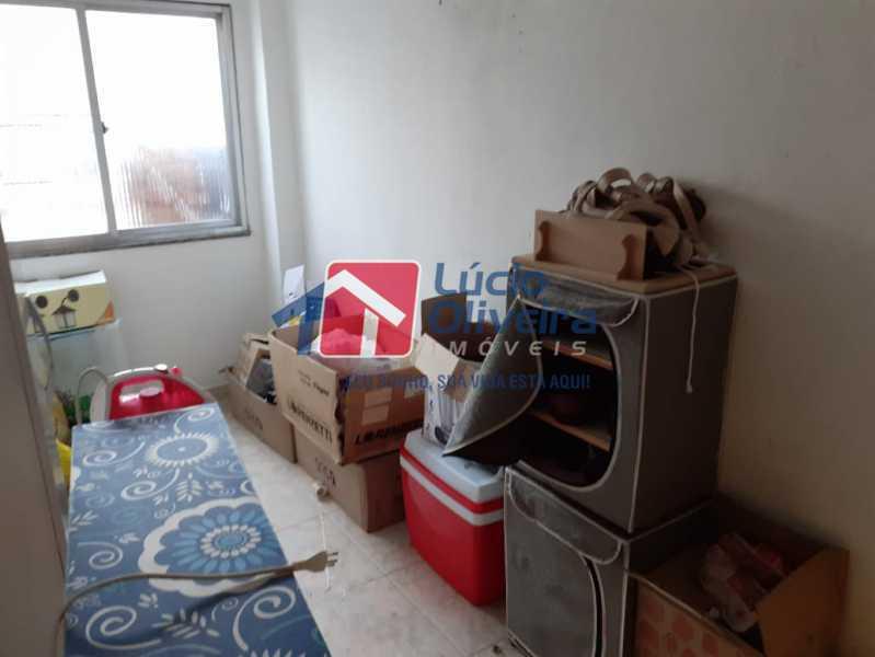quarto empregada - Casa à venda Rua Godofredo Silva,Vila Kosmos, Rio de Janeiro - R$ 245.000 - VPCA20281 - 12