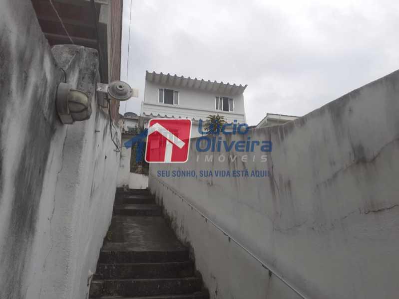 fachada - Casa à venda Rua Godofredo Silva,Vila Kosmos, Rio de Janeiro - R$ 245.000 - VPCA20281 - 13