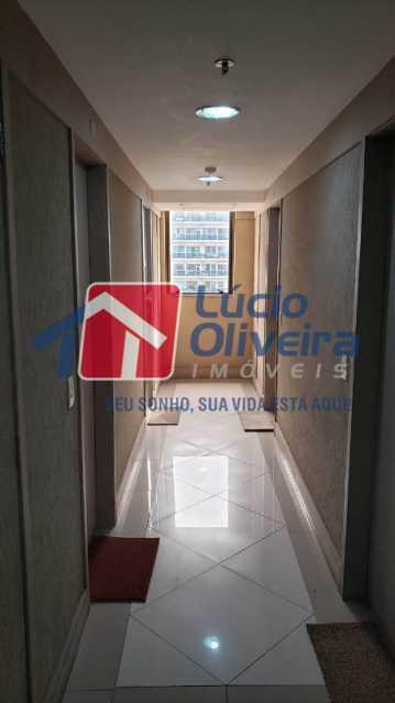 10- Circulação - Sala Comercial 30m² à venda Avenida Embaixador Abelardo Bueno,Barra da Tijuca, Rio de Janeiro - R$ 180.000 - VPSL00026 - 11