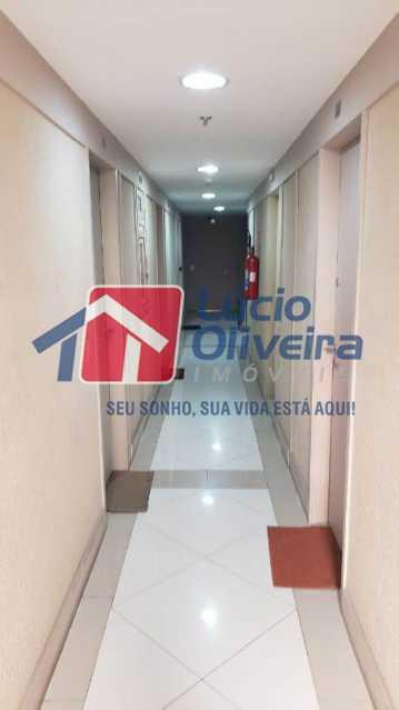 11- Circulação - Sala Comercial 30m² à venda Avenida Embaixador Abelardo Bueno,Barra da Tijuca, Rio de Janeiro - R$ 180.000 - VPSL00026 - 12