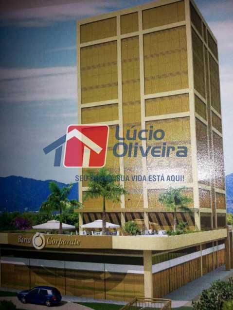12- Fachada - Sala Comercial 30m² à venda Avenida Embaixador Abelardo Bueno,Barra da Tijuca, Rio de Janeiro - R$ 180.000 - VPSL00026 - 13