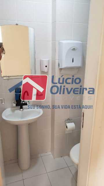 13- Banheiro - Sala Comercial 30m² à venda Avenida Embaixador Abelardo Bueno,Barra da Tijuca, Rio de Janeiro - R$ 180.000 - VPSL00026 - 14