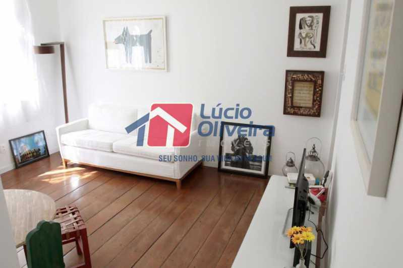 03- Sala - Apartamento à venda Rua Grajaú,Grajaú, Rio de Janeiro - R$ 480.000 - VPAP30362 - 1