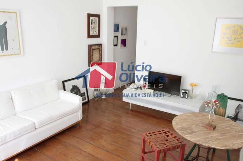 04- Sala - Apartamento à venda Rua Grajaú,Grajaú, Rio de Janeiro - R$ 480.000 - VPAP30362 - 4