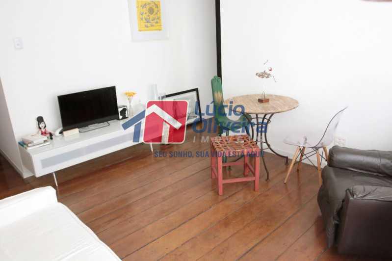 05- Sala - Apartamento à venda Rua Grajaú,Grajaú, Rio de Janeiro - R$ 480.000 - VPAP30362 - 7