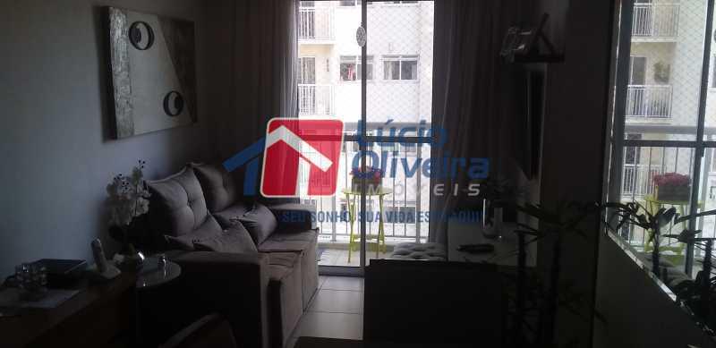 01 - Sala - Apartamento à venda Estrada Coronel Vieira,Irajá, Rio de Janeiro - R$ 220.000 - VPAP21488 - 1