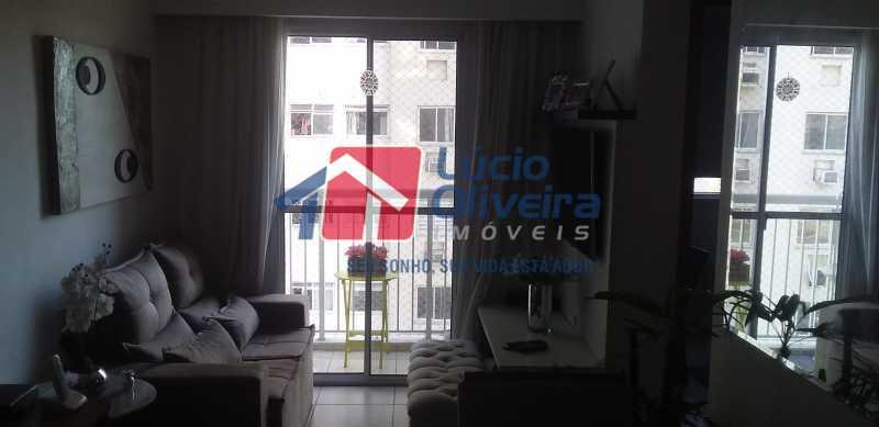 02 - Sala - Apartamento à venda Estrada Coronel Vieira,Irajá, Rio de Janeiro - R$ 220.000 - VPAP21488 - 3