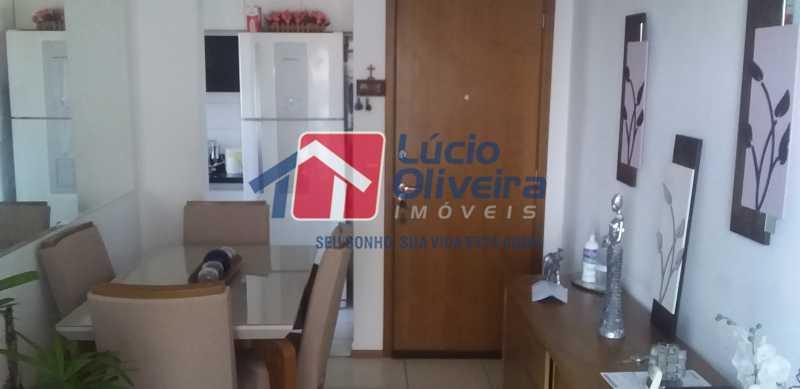 03 - Sala - Apartamento à venda Estrada Coronel Vieira,Irajá, Rio de Janeiro - R$ 220.000 - VPAP21488 - 4