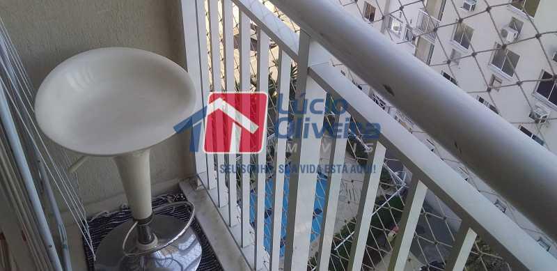 04 - Varanda - Apartamento à venda Estrada Coronel Vieira,Irajá, Rio de Janeiro - R$ 220.000 - VPAP21488 - 5