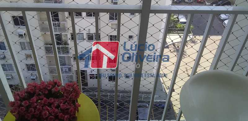 05 - Varanda - Apartamento à venda Estrada Coronel Vieira,Irajá, Rio de Janeiro - R$ 220.000 - VPAP21488 - 6