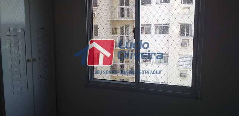 11 - Quarto Solteiro - Apartamento à venda Estrada Coronel Vieira,Irajá, Rio de Janeiro - R$ 220.000 - VPAP21488 - 12