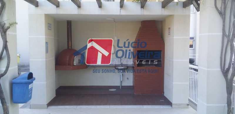 20 - Churrasqueira - Apartamento à venda Estrada Coronel Vieira,Irajá, Rio de Janeiro - R$ 220.000 - VPAP21488 - 21