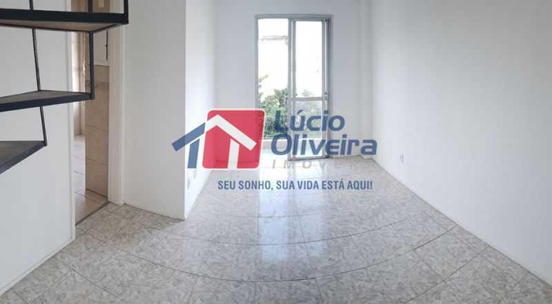 1- Sala ambiente saida para va - Cobertura à venda Rua Cristóvão Colombo,Cachambi, Rio de Janeiro - R$ 315.000 - VPCO20016 - 3
