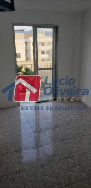 2- Sala e varanda - Cobertura à venda Rua Cristóvão Colombo,Cachambi, Rio de Janeiro - R$ 315.000 - VPCO20016 - 1