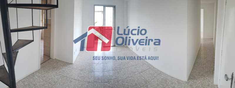 3- Sala varanda panoramica - Cobertura à venda Rua Cristóvão Colombo,Cachambi, Rio de Janeiro - R$ 315.000 - VPCO20016 - 4