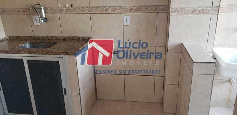 11-Cozinha e area serviço - Cobertura à venda Rua Cristóvão Colombo,Cachambi, Rio de Janeiro - R$ 315.000 - VPCO20016 - 12