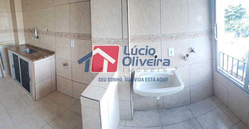 13-Cozinha e area serviço pan - Cobertura à venda Rua Cristóvão Colombo,Cachambi, Rio de Janeiro - R$ 315.000 - VPCO20016 - 14