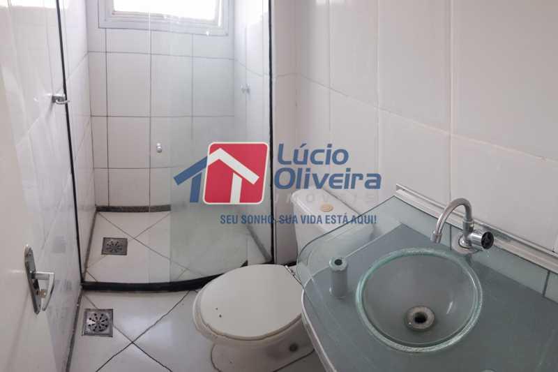 15-Banheiro social - Cobertura à venda Rua Cristóvão Colombo,Cachambi, Rio de Janeiro - R$ 315.000 - VPCO20016 - 16