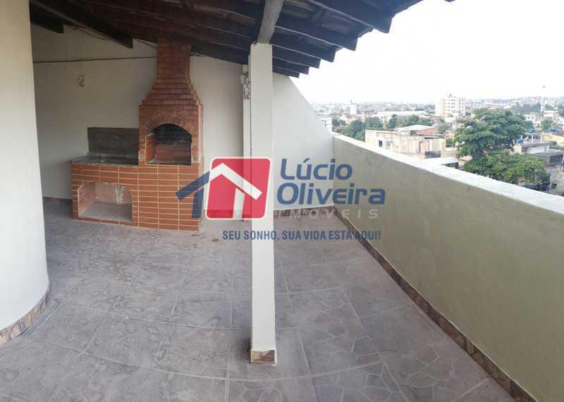 16-Area gourmet - Cobertura à venda Rua Cristóvão Colombo,Cachambi, Rio de Janeiro - R$ 315.000 - VPCO20016 - 17