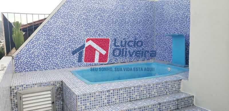 17-Piscina 1 - Cobertura à venda Rua Cristóvão Colombo,Cachambi, Rio de Janeiro - R$ 315.000 - VPCO20016 - 18