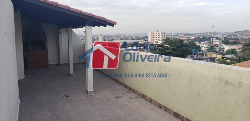 18-Terraço coberto eoberto - Cobertura à venda Rua Cristóvão Colombo,Cachambi, Rio de Janeiro - R$ 315.000 - VPCO20016 - 19