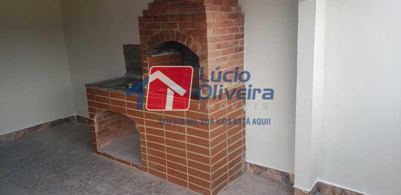19-Churrasqueira - Cobertura à venda Rua Cristóvão Colombo,Cachambi, Rio de Janeiro - R$ 315.000 - VPCO20016 - 20