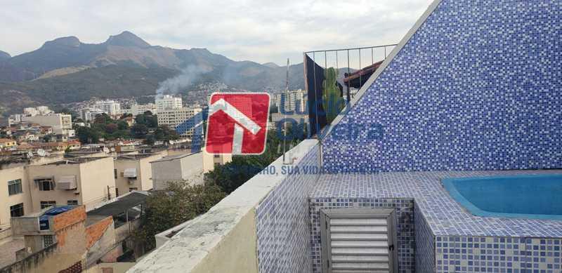 21-Vista panoramica terraço - Cobertura à venda Rua Cristóvão Colombo,Cachambi, Rio de Janeiro - R$ 315.000 - VPCO20016 - 22