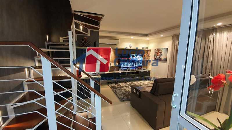 03- Sala - Apartamento à venda Estrada do Guanumbi,Freguesia (Jacarepaguá), Rio de Janeiro - R$ 550.000 - VPAP21495 - 4