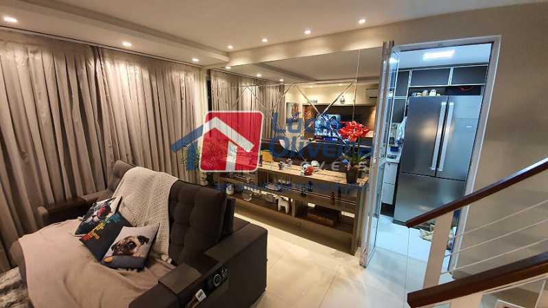 04- Sala - Apartamento à venda Estrada do Guanumbi,Freguesia (Jacarepaguá), Rio de Janeiro - R$ 550.000 - VPAP21495 - 5