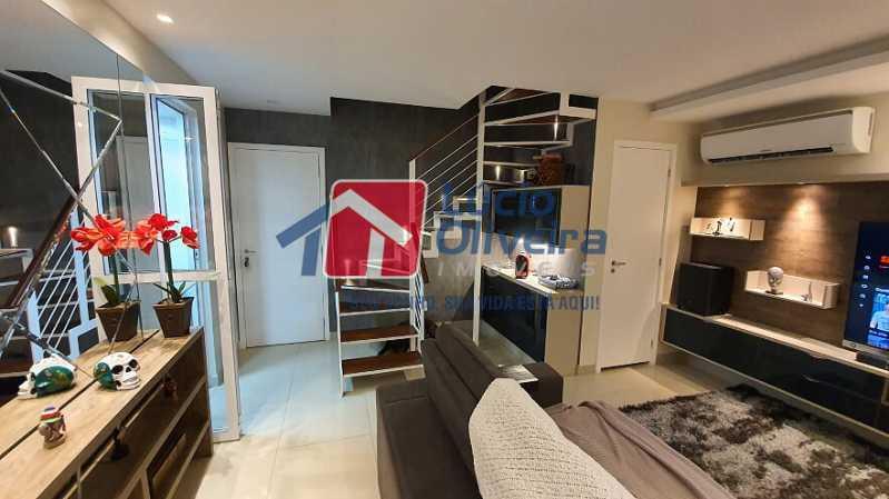 05- Sala - Apartamento à venda Estrada do Guanumbi,Freguesia (Jacarepaguá), Rio de Janeiro - R$ 550.000 - VPAP21495 - 6